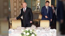 Putin Parties All Night In Italy