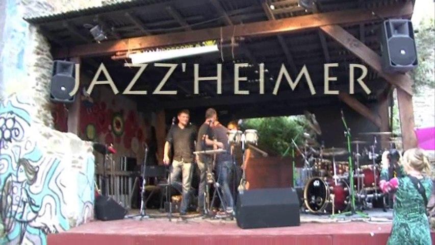 JAZZ'HEIMER, aux journées du patrimoine rue St Malo à Brest 2014