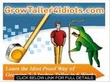 How To Increase Height Faster   Grow Taller 4 Idiots Review and guide
