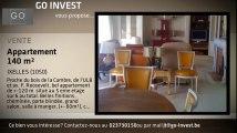 A vendre - Appartement - Ixelles - Ixelles (1050) - 2 pièces - 140m²