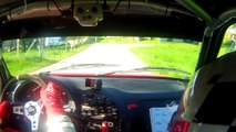 Rallye de la Chartreuse équipage Minassian Fontrobert Saxo Kit Car
