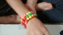Bracelet élastique FACILE avec Isabelle (Bracelet avec billes) Rainbow loom EASY elastic bracelet.