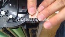 Reset the OKI imaging drum used in laser printers C301, C310