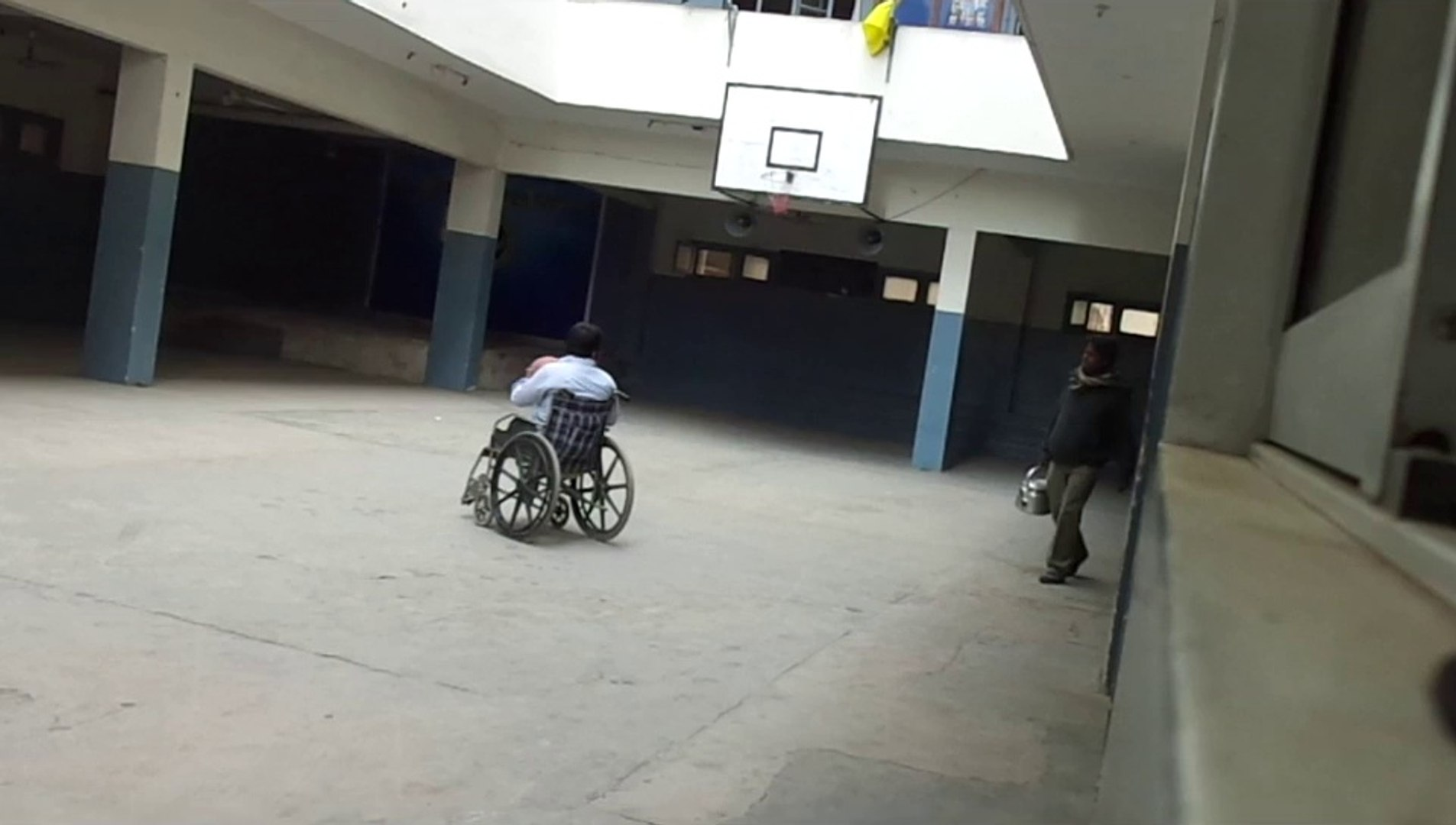 Double Amputee David: Basketball is part of my life