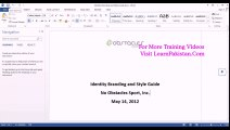 06. Save and Save As Learn Office 2013 In Urdu & Hindi