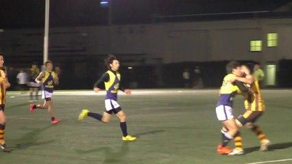 2014.10.18 ホークス対ポセイドンズ Q4 HAWKS vs POSEIDONS - AFL Japan Top League