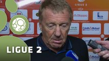 Conférence de presse Stade Lavallois - Stade Brestois 29 (2-2) : Denis ZANKO (LAVAL) - Alex  DUPONT (SB29) - 2014/2015