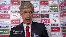 Arsenal 2-2 Hull City - Arsene Wenger Post Match Interview - Disappointing result for Wenger