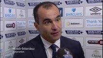 Everton 3-0 Aston Villa - Roberto Martinez Match Interview - Martinez hails 'clever' performance