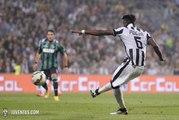 Goal Paul PogbaSassuolo - Juventus Turin (1-1)
