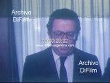Celebran dia del periodista en Canal 13 de Buenos Aires 1981