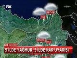 Hakkari ve Hatay'da sel felaketi Van'da kar keyfi yaşandı