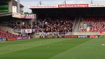 EAG-PAOK avant match 18/09/2014 Europa League J.2 (2-0) #EAG #PAOK #Paokfans #fans #supporters