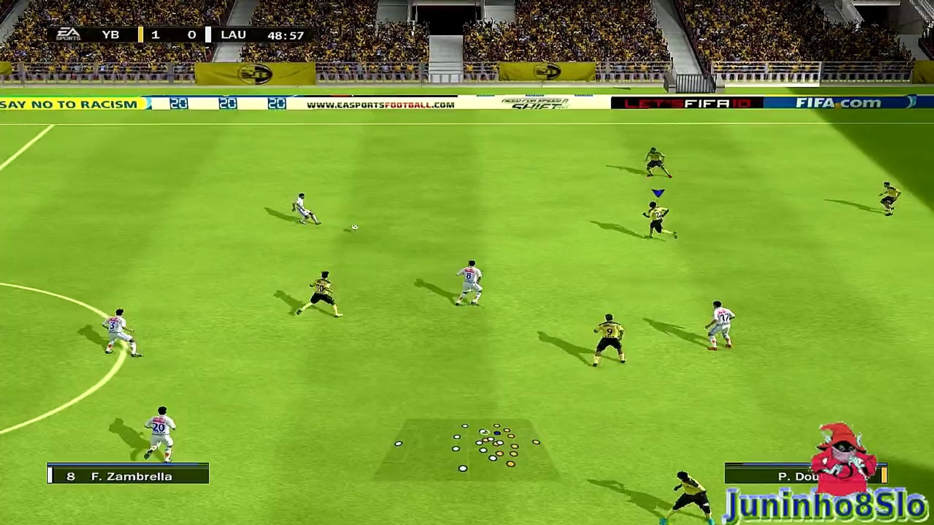 Fifa 10-Manager Mode-BSC Young Boys vs FC Lausanne-Game 13