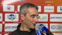 Réaction de Denis Zanko avec Stade Lavallois - Stade Brestois 29