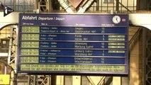 Allemagne: La grève des cheminots paralyse le réseau ferroviaire