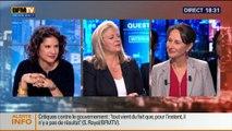 BFM Politique: L'interview BFM Business de Ségolène Royal par Hedwige Chevrillon (2/5) - 19/10