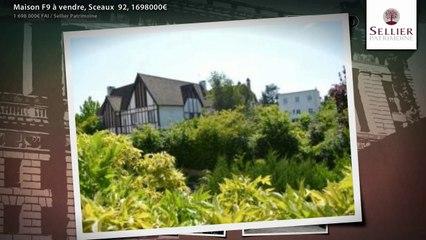 Maison F9 à vendre, Sceaux  92, 1698000€
