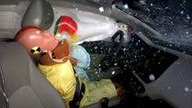 Kia Rio Yandan Otomobille Çarpışma Testi