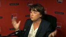 "Promis, Martine Aubry n'est ni ""une frondeuse"" ni ""un recours"""