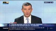 L'Édito éco de Nicolas Doze: La France négocierait-elle un pacte budgétaire avec l'Allemagne? - 20/10