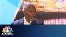 Ebola: Kofi Annan Speaks Out   CNBC Exclusive   CNBC International
