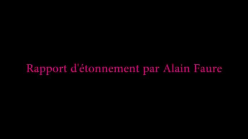 Rencontres de la GUSP 2014 - Rapport d'étonnement d'Alain FAURE