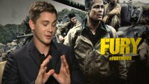 Logan Lerman interview: Fury actor on texting Brad Pitt