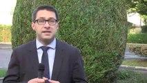 21 10 14 Réaction de Christophe Léonard pour l'inauguration Maison des Entrepreneurs des Ardennes par Pierre Gattaz