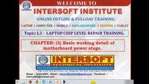 Laptop online repair class video demo  INTERSOFT L3.1 demo class ENGLISH