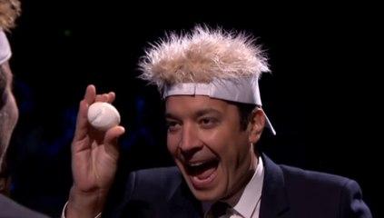 Jimmy Fallon et Bradley Cooper / Egg russian roulette - Emission du 20 octobre sur MCM !
