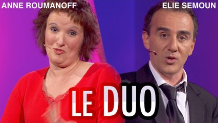 ANNE ROUMANOFF & ELIE SEMOUN - Le duo