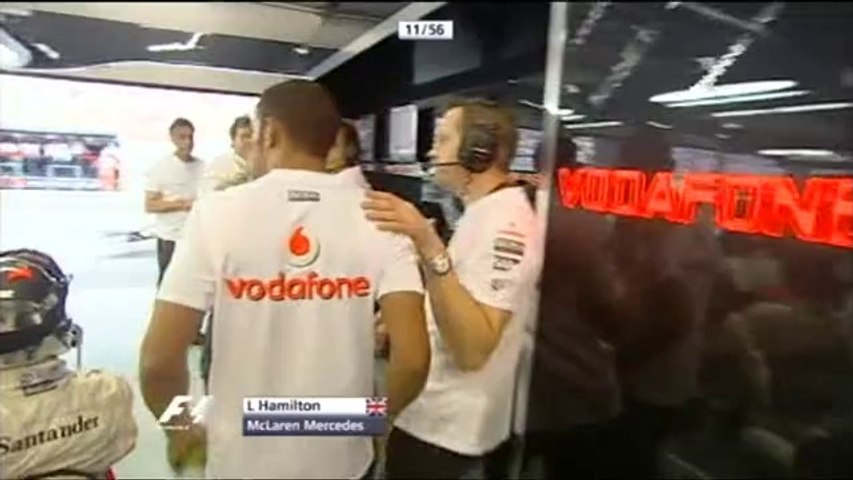 F1 2007 GP16 CHINA Shanghai Race ITV