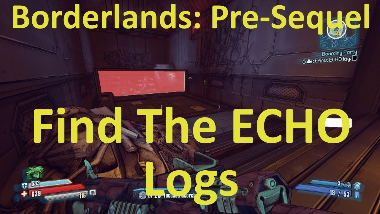 Find the ECHO Logs Location in Boarding Party in Borderlands: The Pre-Sequel  - video dailymotion