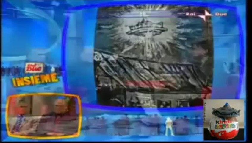 La bufala dell'UFO di Punta Raisi (Ufo Kinder) sponsorizzata su Rai2 dal Centro Ufologico Nazionale (CUN)