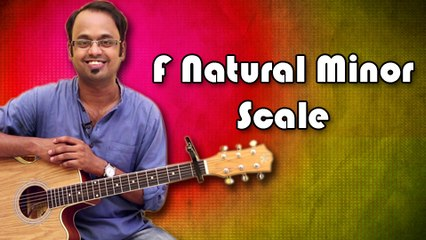 How To Play – F Natural Minor Scale - Guitar Lesson For Beginners