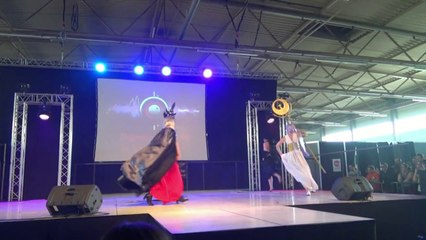 Saint Seiya cosplay at FACTS 2014
