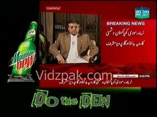 India is destabilizing Pakistan through Proxy war , Modi is anti-muslim & anti-Pakistan :- Pervaiz Musharraf