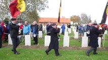 Bois-Grenier : l'armée anglaise rend hommage aux soldats tombés en octobre 1914