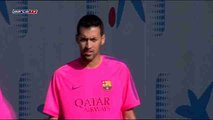 Busquets trains as Barcelona begin preparations for Clásico against Real Madrid