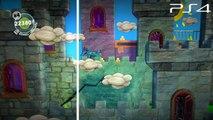 LittleBigPlanet 3 BETA - PS3 VS PS4 Graphics Comparison