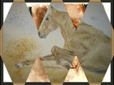 """Equi Jane Peinture """"Les chevaux rebelles"""""""