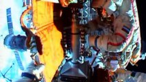 Six-hour spacewalk for cosmonauts at ISS
