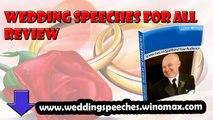 wedding speeches order,wedding speeches examples,Wedding Speeches For All