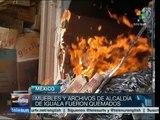 México: incendian Palacio Municipal de Iguala