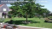 A vendre - maison - BLOIS (41000) - 5 pièces - 116m²