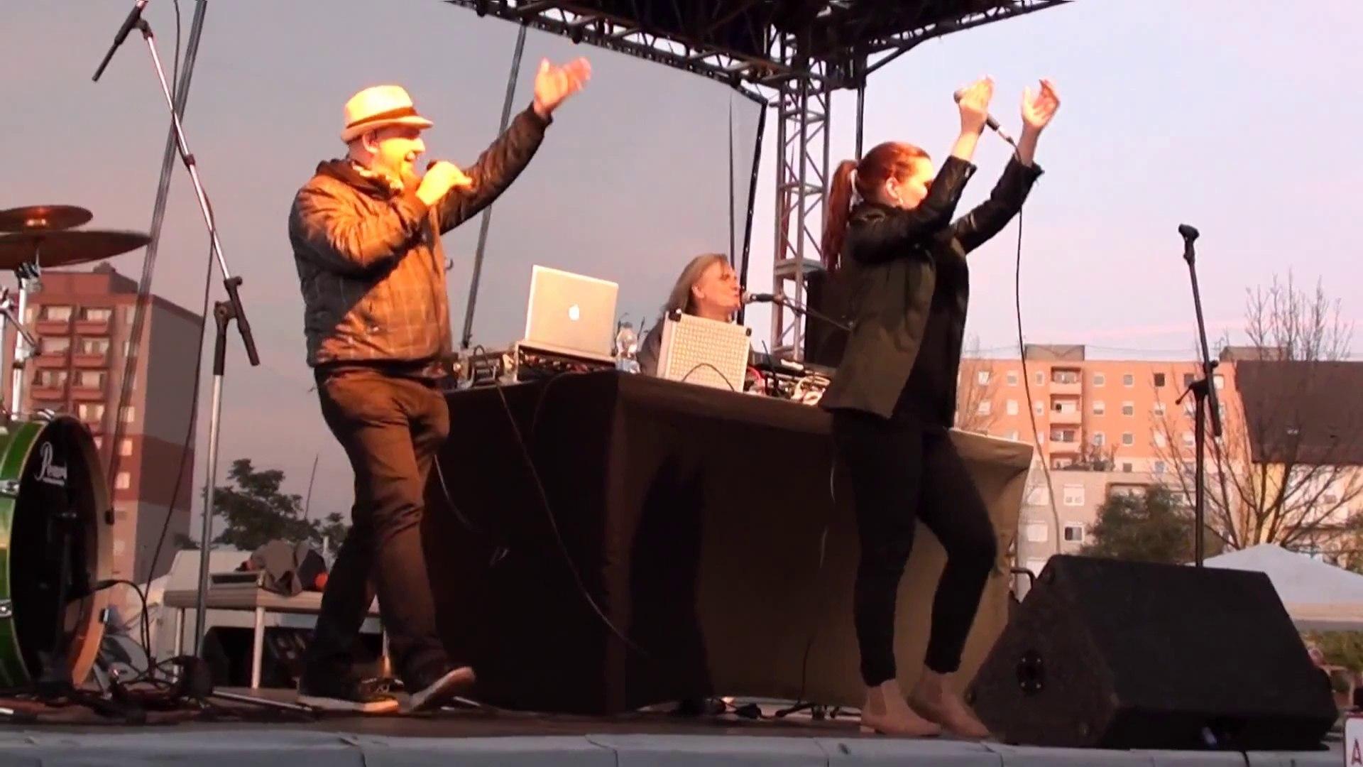 Balkán Fanatik - Feljött a nap (Székesfehérvár Palotavárosi Napok 2014-10-19 Video by Jofi)