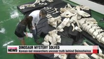 Dinosaur mystery solved by Korean paleontologists
