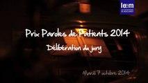 Prix Paroles de Patients interview du jury 7ème édition (2014)