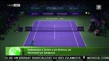 Halep magnifică! Simona Halep a demolat liderul mondial Serena Williams la Turneul Campionelor într-un meci în care i-a lăsat doar 2 game-uri.